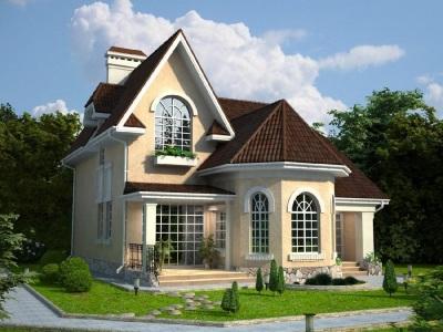 дом с эркером двухэтажный проект