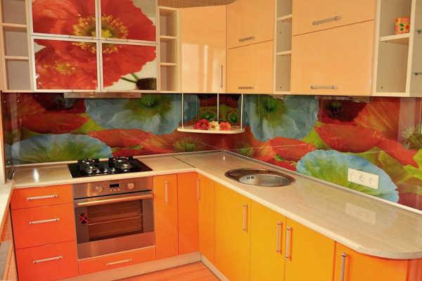 стеновые панели для фартука кухни из пластика