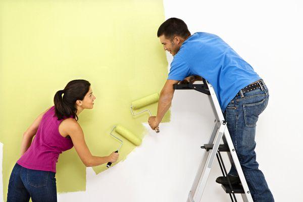палитра красок для обоев под покраску