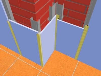 на что крепятся стеновые панели
