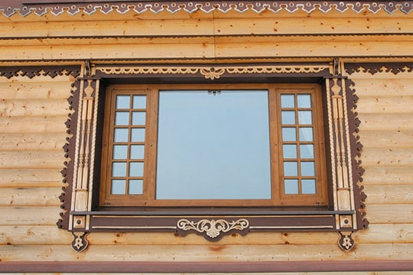 декоративные наличники на окна
