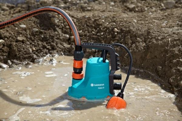 бытовой дренажный насос для грязной воды
