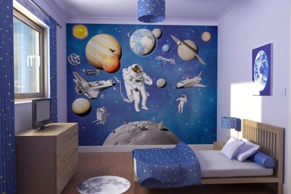 обои граффити в комнату для мальчика