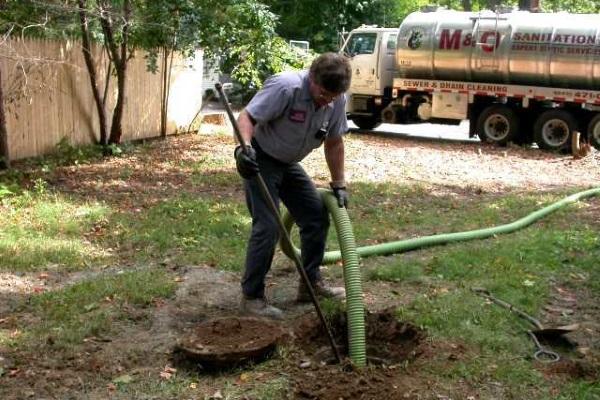 как называется машина для откачки канализации