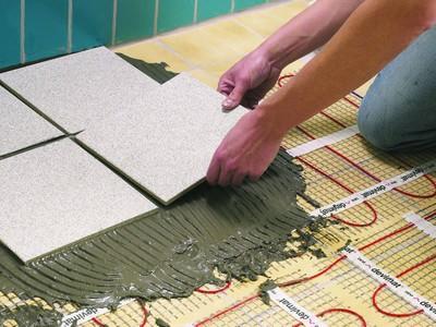 как подготовить деревянный пол под плитку