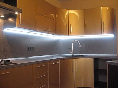 подсветка рабочей зоны на кухне