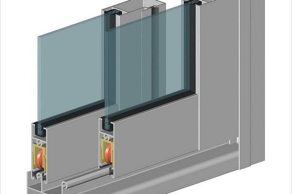 как вставить стекло в алюминиевый профиль