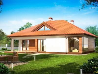 маленький домик с террасой
