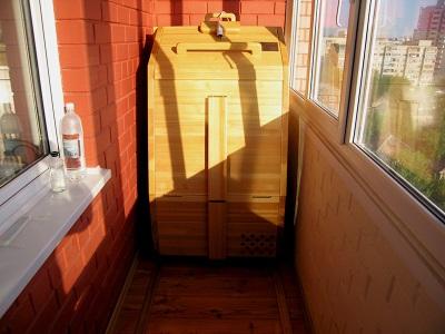 термоконтейнер балконный погребок