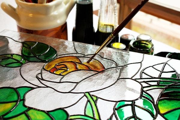 витражные краски своими руками в домашних условиях