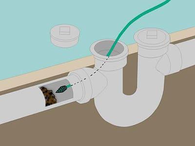 заглушка на канализацию