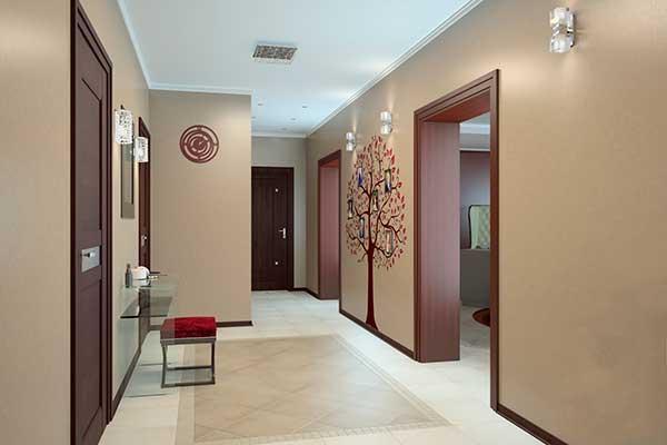 отделка коридоров и прихожих