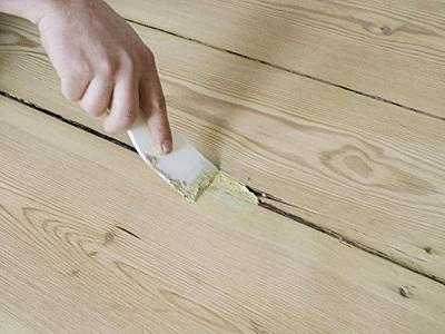 как зашпаклевать деревянную поверхность