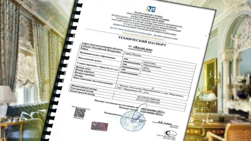 Где получить технический паспорт на дом и какие сведения он содержит